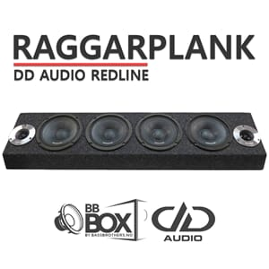 DD Audio Redline Raggarplank