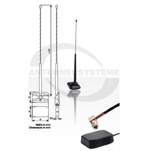 Antennensysteme DAB-antenne - SMB